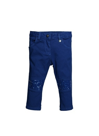 Zeyland Dizleri Pullu Koton Pantolon (6ay-4yaş) Dizleri Pullu Koton Pantolon (6ay-4yaş) Saks
